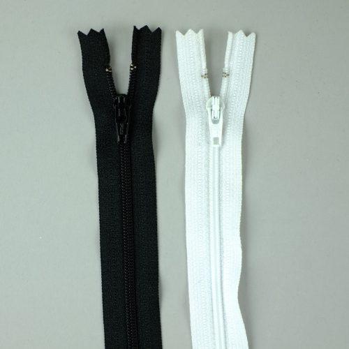 zwarte ritsen witte ritsen, YKK ritsen, japonritsen
