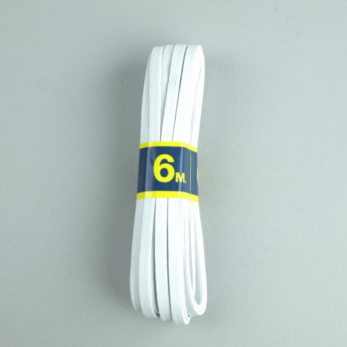 Stevig elastiek van 6mm breed.