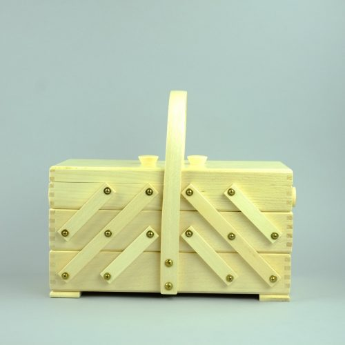 houten naaikist - seegers fournituren