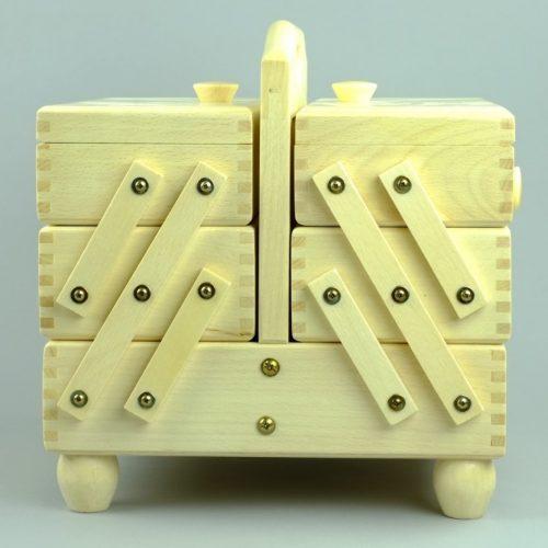 houten naaikist