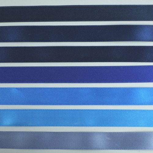 blauw satijnlint - seegers fournituren