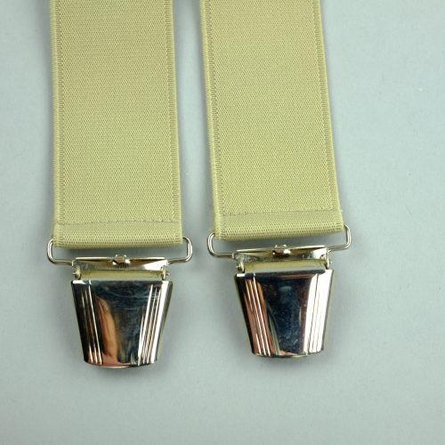 beige 4-clips bretels