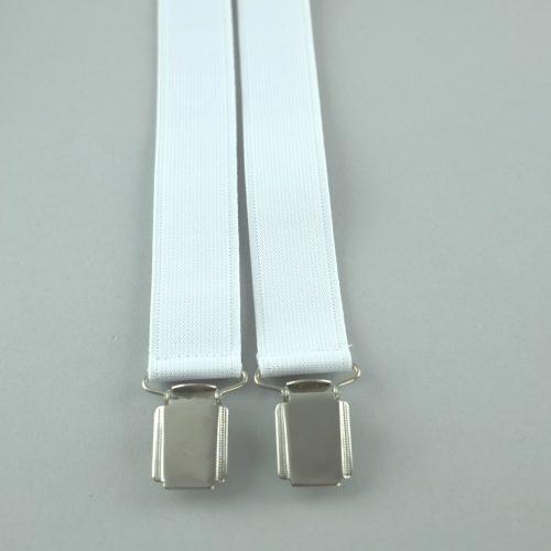 witte 4-clips bretels
