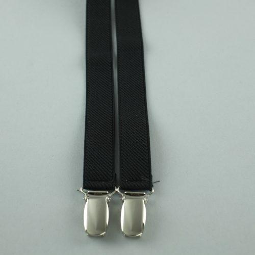 Smalle zwarte bretels