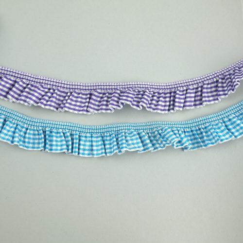 geruit elastisch kant - seegers fournituren
