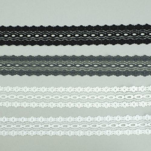 zwart, wit en grijs breikant - seegers fournituren